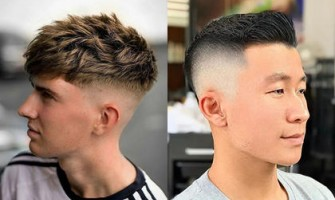 Hairstyle trends for boys in 2021! The sleek, short hair and texture cut make you a sunny man!