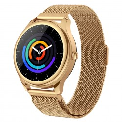Smart Watch S23-Sleep Heart Rate Fashion Full Circle Color Screen Dial Milanese Strap Magnetic Charging Smart Watch Full Circle Color Screen Dial Milanese Strap Magnetic Charging