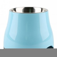Tall pet feeding bowl