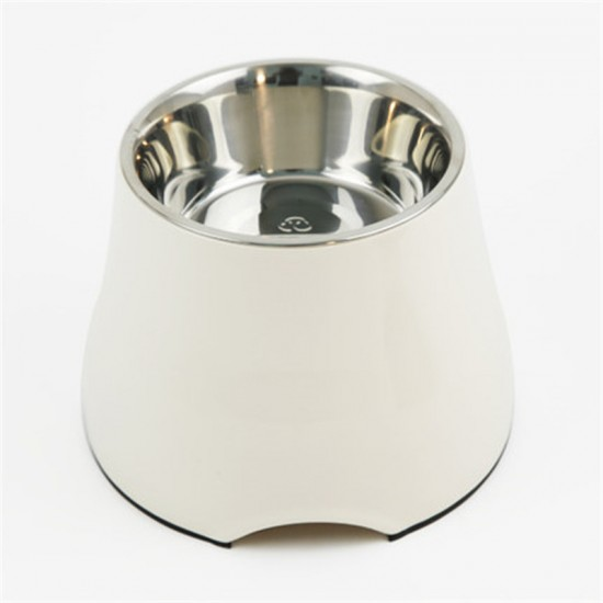 Tall pet feeding bowl