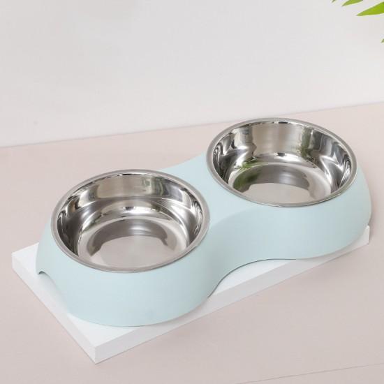 2-in-1 pet feeding bowl