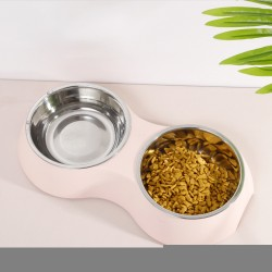 2-in-1 pet feeding bowl