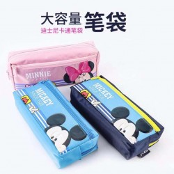 Genuine Disney D01056 Large Capacity Mickey Minnie Pencil Case