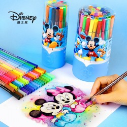 Genuine Disney bucket washable watercolor pen set (12 colors/18 colors/24 colors/36 colors/48 colors)