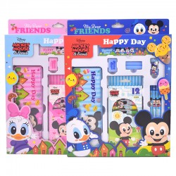 Genuine Disney Elementary School Student Stationery Set Gift Box