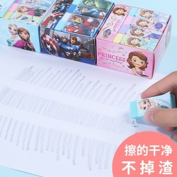 Genuine Disney Creative Cute Cartoon Pattern Eraser 12 Boxes