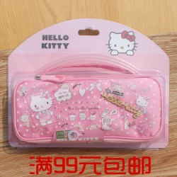 Genuine Hello Kitty Multifunctional Large Capacity Stationery Pencil Case for Primary School Students