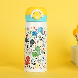 Authentic Disney cute cartoon children's bomb lid thermos