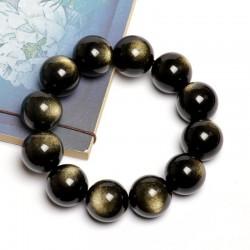 (Male / female) natural golden stone bracelet