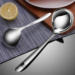 Spoon. 304 stainless steel soup spoon big soup