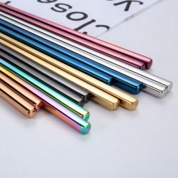 Chopsticks. 24cm.304 stainless steel Korean chopsticks