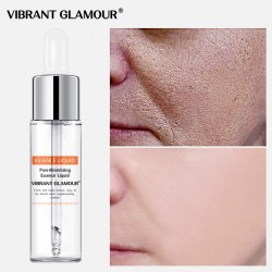 Vibrant Glamour salicylic acid shrinks the essence of pores. Make the water to blackhead acne