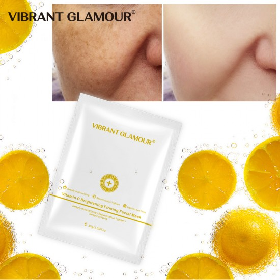 Vibrant Glamour VC brightly litting the mask. Deep moisturizing hydrating is tightening