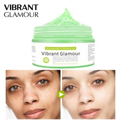 Vibrant Glamour resveratrol showing frost. Moisturizing repair mask essence cream
