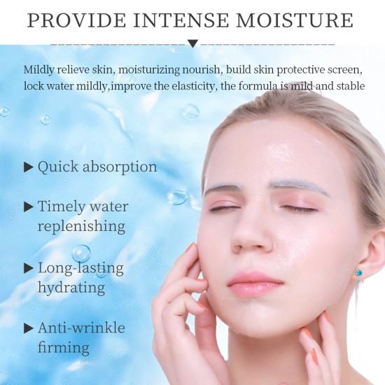 Vibrant Glamour Hyaluronic Acid Moisturizing Mask. Moisturizing and Skin Skin