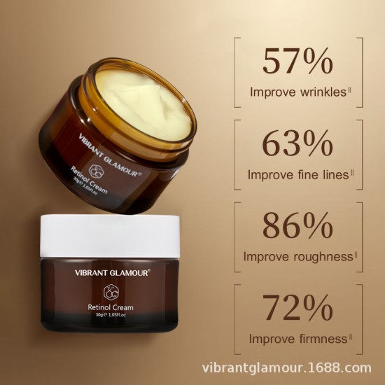 Vibrant Glamour returning to the viable camping cream. Delay the aging wrinkle fine lines