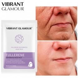 Vibrant Glamour Fullerene olig peptide mask. Hydrating moisturizing