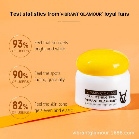 Vibrant Glamour Vitamin C Fang Cream. 50g. Skin Removal Spots and Black