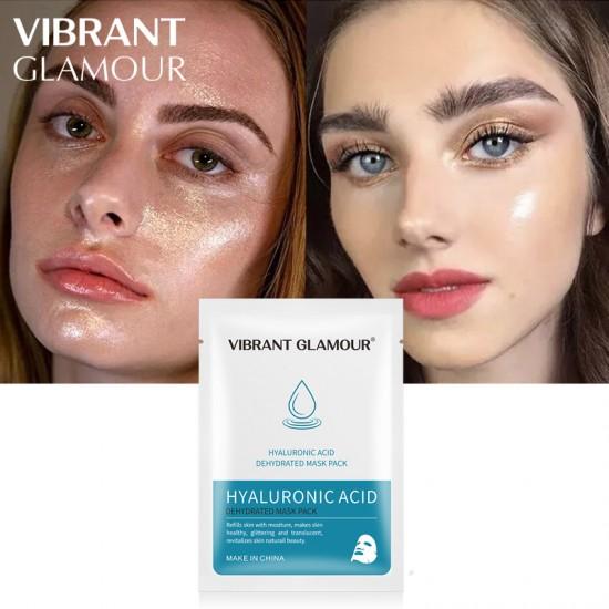 Vibrant Glamour Hyaluronic Acid Oil Mask. Moisturizing Firming Repair