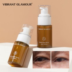 Vibrant Glamour retrays the yellow alcoholic essence. Reduce the eye-weef fine lines moisturizing