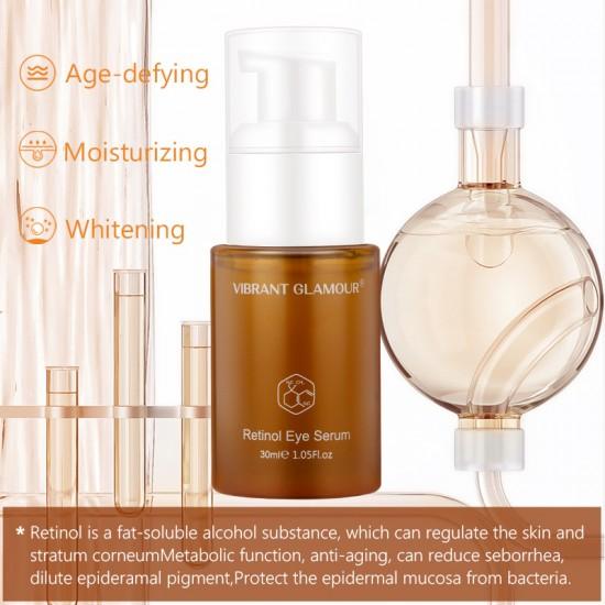 Vibrant Glamour retrays the yellow alcoholic essence. Reduce the eye-weef fine lines moisturizing